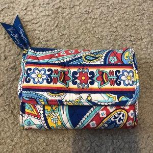 Vera Bradley trifold wallet